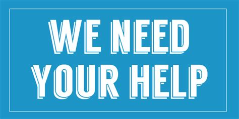 Needs Some Support by We Need Your Help New H2o