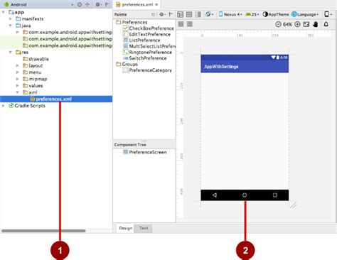 xml layout generator 9 2 adding settings to an app 183 android developer