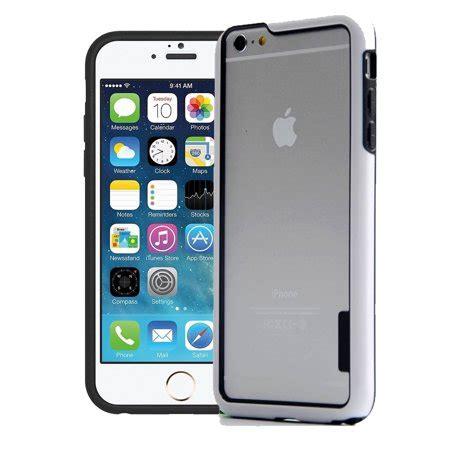 iphone 6 6s plus hybrid bumper cover white walmart