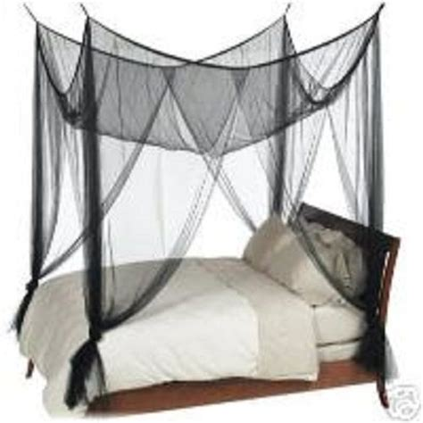4 corner post bed canopy mosquito net for queen full