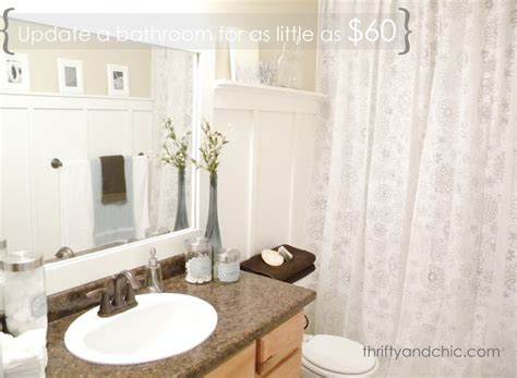Bathroom Makeovers Cheap by Thrifty And Chic Diy Projects And Home Decor