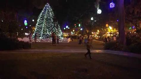 winter park christmas lights 2014 youtube