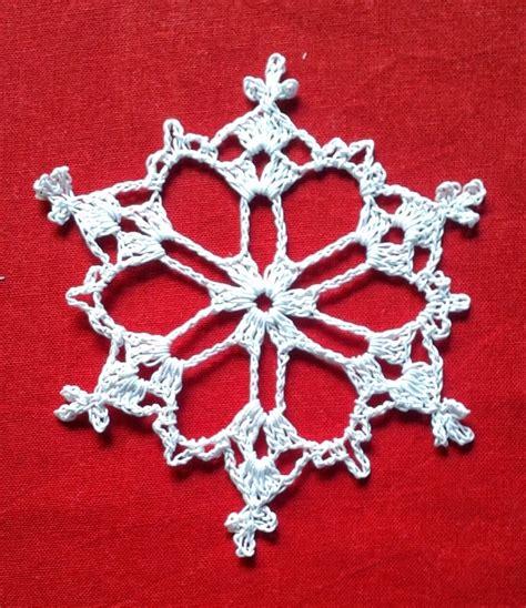 pattern snowflake crochet snowflake a free pattern free crochet patterns