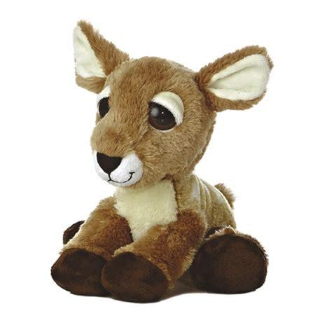 fiona the dreamy eyes baby deer plush animal by aurora