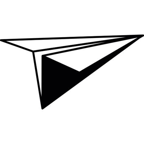 avi 243 n de papel en perspectiva iconos gratis de interfaz