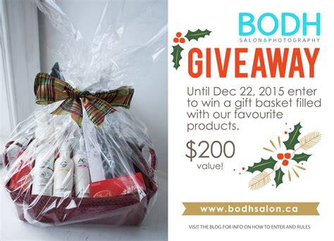 2015 gift basket giveaway closed 187 bodh salon guelph