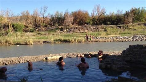 big bend hot springs ca big bend national park hot springs choose a place for relax