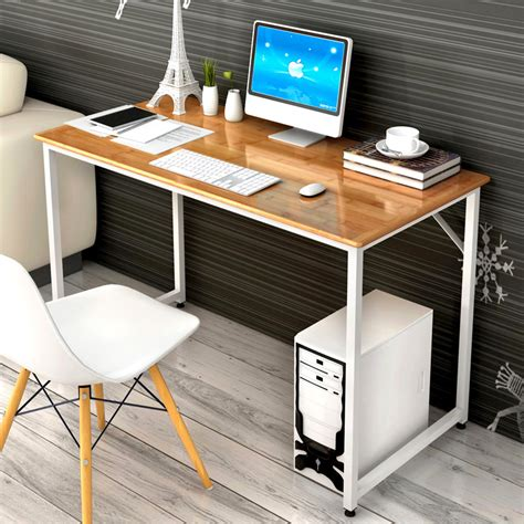 high quality modern simple office computer desk environmental protection wooden desk office