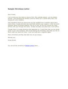 cover letter to a family friend