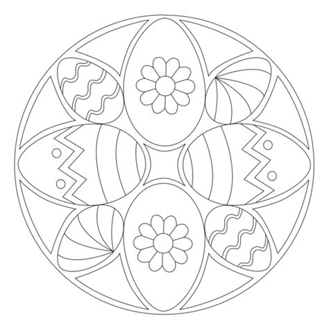 mandala coloring pages easter osterei mandala 3 pasen mandalas mandala
