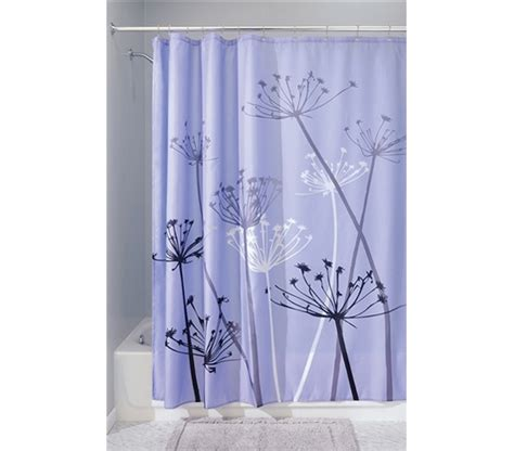 college shower curtains adds to dorm decor thistle purple shower curtain