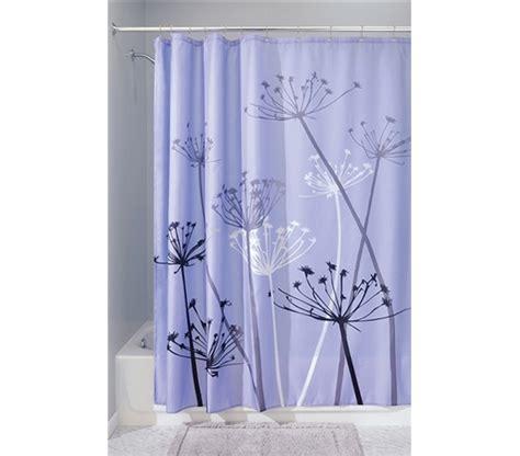 dorm shower curtain adds to dorm decor thistle purple shower curtain