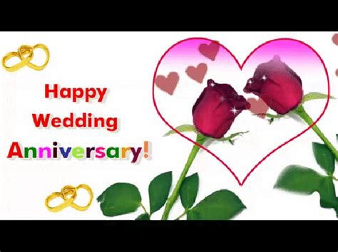 Happy Wedding Text Animation by Top 50 Beautiful Happy Wedding Anniversary Wishes Images