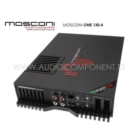 Lifier Mosconi One 130 4 lificador coche hifi mosconi one 130 4 taller car audio