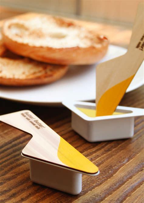 design better four flavored butter spoon yanko design