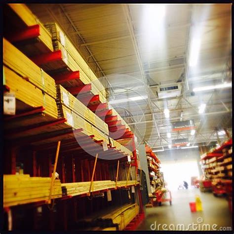 home depot lumber section stock photo image 51443747