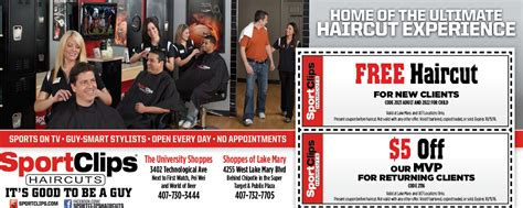 haircut coupons orlando free haircut lake mary