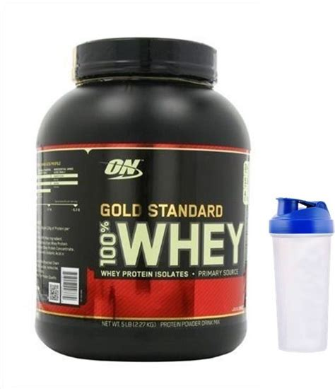 Terbatas Whey Gold Standard 5 Lbs Optimum Nutrition Gf677 gold standard 100 whey protein isolates by optimum nutrition 5 lbs delicious strawberry with