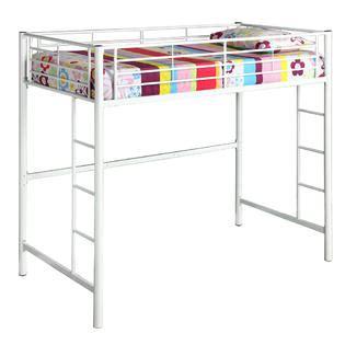 bunk beds at kmart walker edison metal loft white bunk bed home
