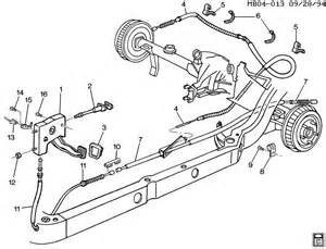 Emergency Brake System Diagram Chevrolet Caprice Parking Brake System