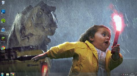 Little Girl Running Meme - not again x post r photoshopbattles funny