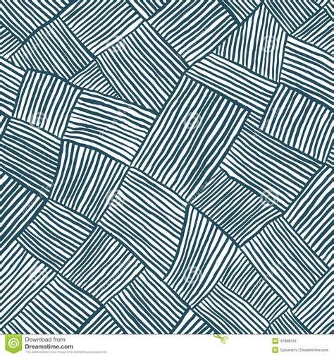 seamless pattern lines hand drawn lines seamless pattern stock vector image