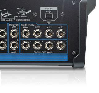 Mixer Yamaha 12 Xu mg series xu model analog mixers mixers live sound