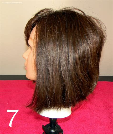 how to cut angled bob haircut myself angled bob with a faux side undercut