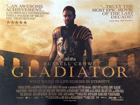 gladiator film book 5 of the best quotes from quot gladiator quot gladiator 2000