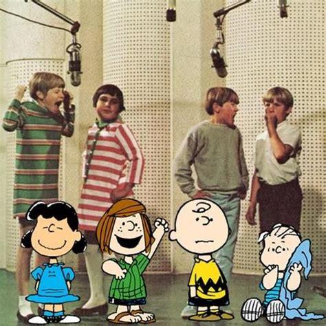 original voice actors of the peanuts 1960 s oldschoolcool