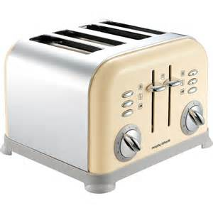 Slimline 4 Slice Toaster Morphy Richards 44038 Accents Country Cream 4 Slice Toaster