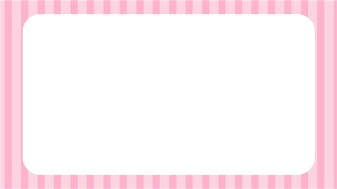 Pink Striped Frame by iCosmicAngel on DeviantArt