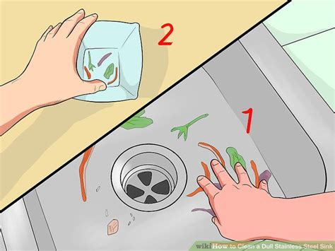 how to keep stainless steel sink shiny how to clean a dull stainless steel sink 14 steps with