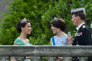 Princess Mary and Prince Frederic attend Carl Philip and Sofia Hellqvist's wedding   Daily Mail