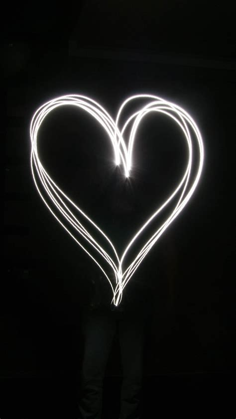 light heart wallpaper iphone android desktop backgrounds