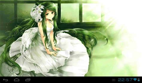 wallpaper anime princess anime princess live wallpaper android apps on google play