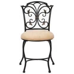 Vanity Chair Black Sparta Vanity Stool With Black Gold Frame Dcg Stores