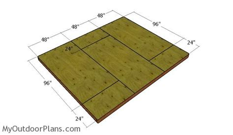 10 By 12 Shed Floor - 10x12 shed plans myoutdoorplans free woodworking plans