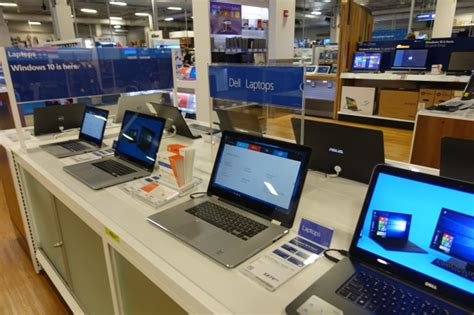 best buy dell laptop windows 10 launch in retail stores some pre loaded