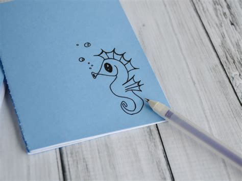 Drawing Notebook by Back To School Diy Doodle Notebook Tutorial With
