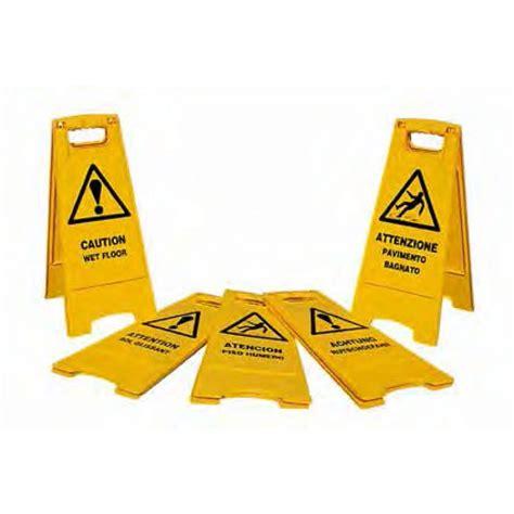 attenzione pavimento bagnato pannello di avviso quot attenzione pavimento bagnato quot