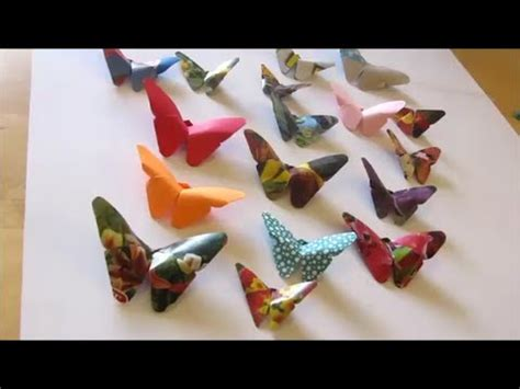 and craft and craft how to make origami butterfly 2