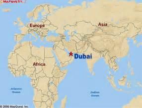 Dubai World Dubai In World Map Images
