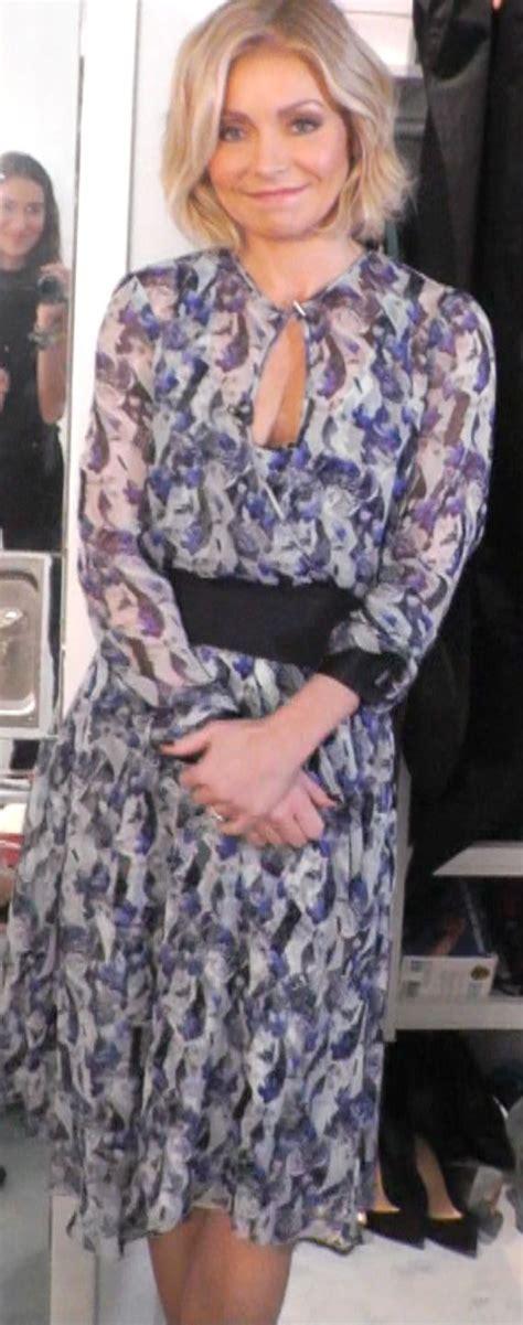 Kelly Ripa Fashion Finder | kelly ripa in a prabal gurung dress from neimanmarcus