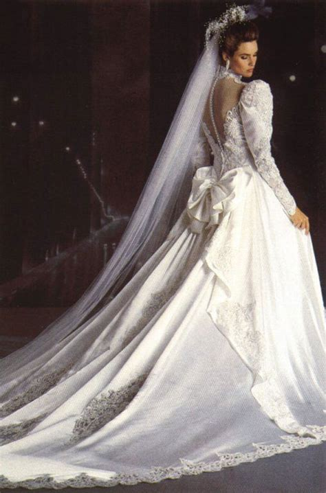 Brautkleider 80er by Carol Alt Mid 80s 80s And 90s Wedding Dresses