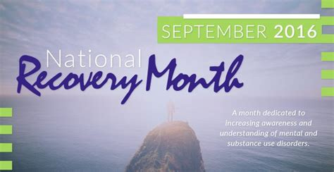 Community Reach Center Detox by September Is National Recovery Month