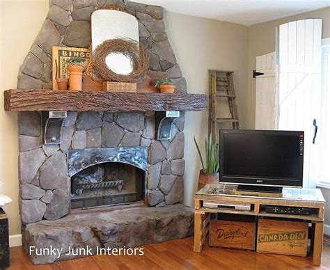 world fireplace makeover home
