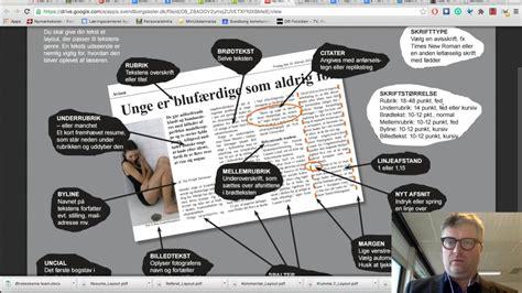 tekst layout reportage 6 inds 230 tte tekst i bokse tilpasse tekst og rubrikker