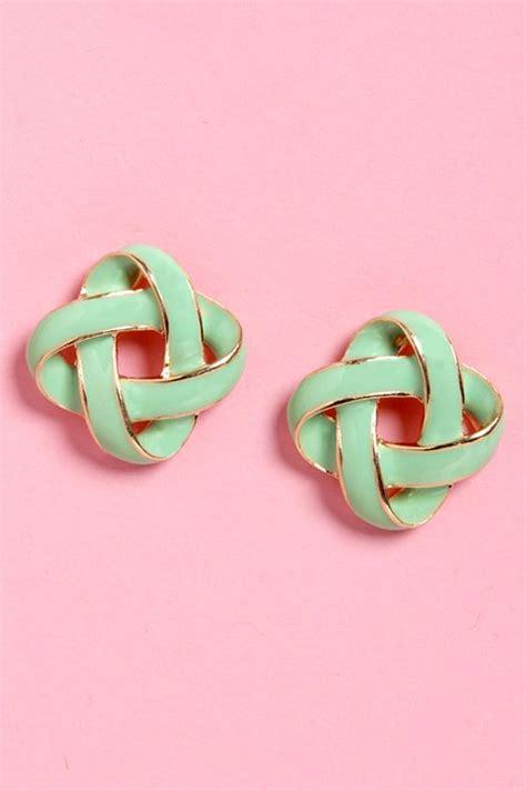 Feeling Green Gold by Best 25 Mint Earrings Ideas On Swarovski
