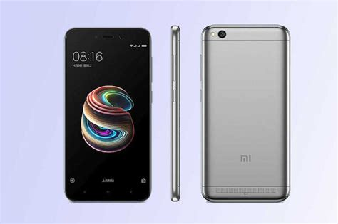 redmi 5a xiaomi redmi 5a with snapdragon 425 soc 3000mah battery